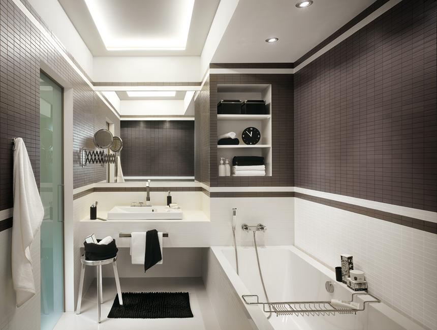 vonios kambario interjeras bute