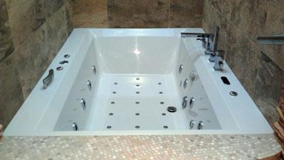 Masažinės Vonios įrengimas